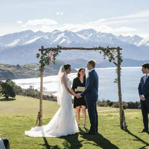 Wedding arch for hire in Wanaka