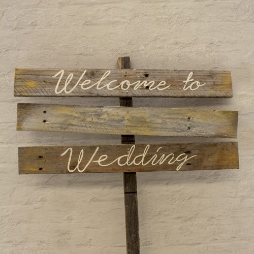 welcome sign - Wanaka Wedding